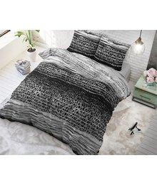 Sleeptime Elegance dekbedovertrek panterprint zwarten wit