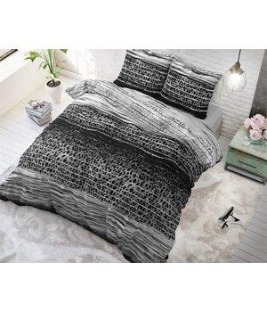 Sleeptime Elegance dekbedovertrek tijgerprint zwarten wit