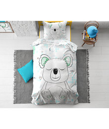 Dreamhouse Bedding Kids dekbedovertrek '' Sleepy Koala''