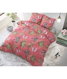 Sleeptime Elegance dekbedovertrek ''Botanic Blush'' roze