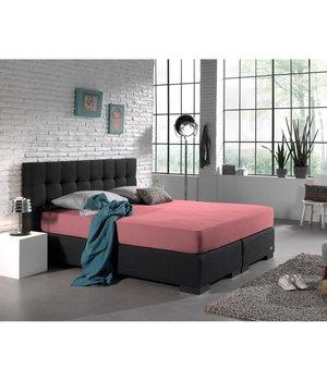 HomeCare Dubbel Jersey Hoeslaken Roze