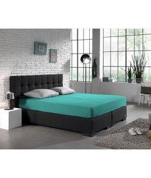 HomeCare Dubbel Jersey Hoeslaken turquoise