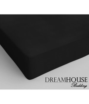 Dreamhouse Bedding Katoenen hoeslaken Zwart