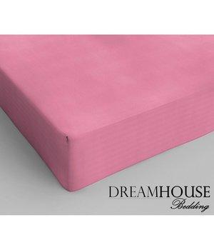 Dreamhouse Bedding Katoenen hoeslaken Roze