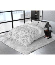 Dreamhouse Bedding Katoen satijn dekbedovertrek ''Lionel'' washed look grijs