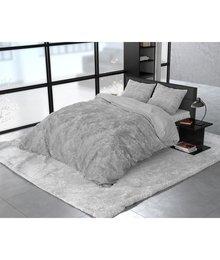 Dreamhouse Bedding Katoen satijn dekbedovertrek ''Noah'' washed look grijs