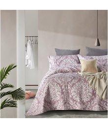 Dreamhouse Bedding Luxe bedsprei ''Vintage Barok'' lila