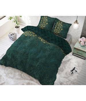 Sleeptime Elegance katoen dekbedovertrek ''indiana'' groen