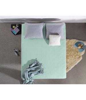 HomeCare Jersey Hoeslaken pasteel blauw
