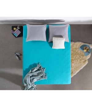 HomeCare Jersey Hoeslaken turquoise