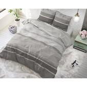 Dreamhouse Bedding dekbedovertrek  ''Morning'' grijs met horizontale strepen