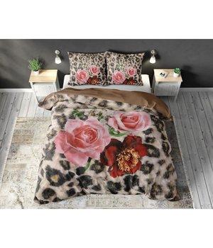 Dreamhouse Bedding dekbedovertrek ''Floral Panther'' met bloemen