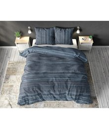 Sleeptime Elegance Katoen dekbedovertrek ''Indigo'' groen