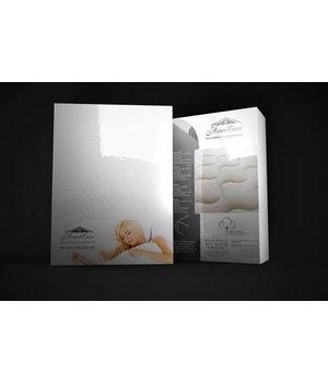 HomeCare Molton matrasbeschermer wit