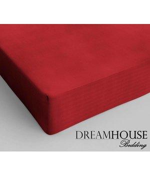 Dreamhouse Bedding Katoen Hoeslaken Rood