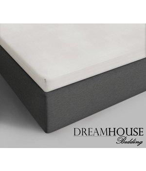 Dreamhouse Bedding Topper Katoenen Hoeslaken Creme