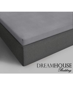 Dreamhouse Bedding Topper Katoenen Hoeslaken Grijs