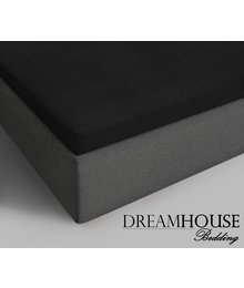 Dreamhouse Bedding Topper Katoenen Hoeslaken Zwart