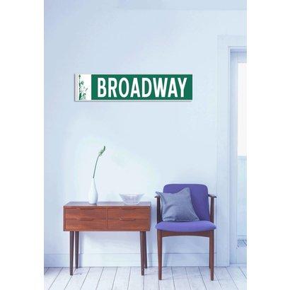 Airpart Art - Streetsign Broadway