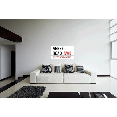 Airpart Art - Streetsign Abbey Road