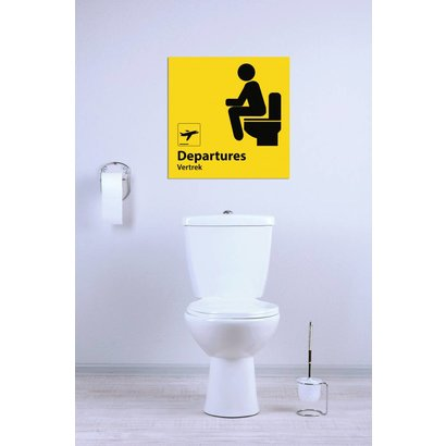Airpart Art -Toiletbord Funny (achterwand)