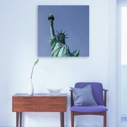 Foto op Dibond 110 x 110 cm