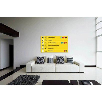 Airpart Art - Wintersport Sign