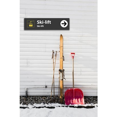 Airpart Art - Ski-lift Sign