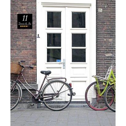 Airpart Art - Huisnummerbord Hotelstijl