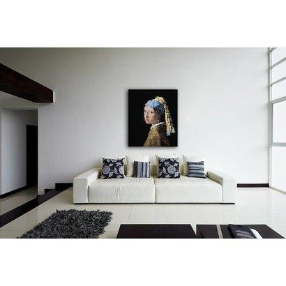 Airpart Art Collection - Meisje met de parel (brandglas)