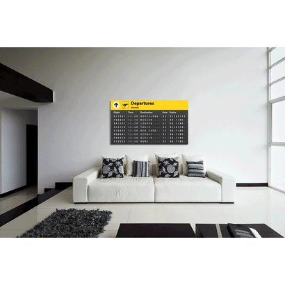 Airpart Art - Departures uitgebreid (10 bestemmingen)