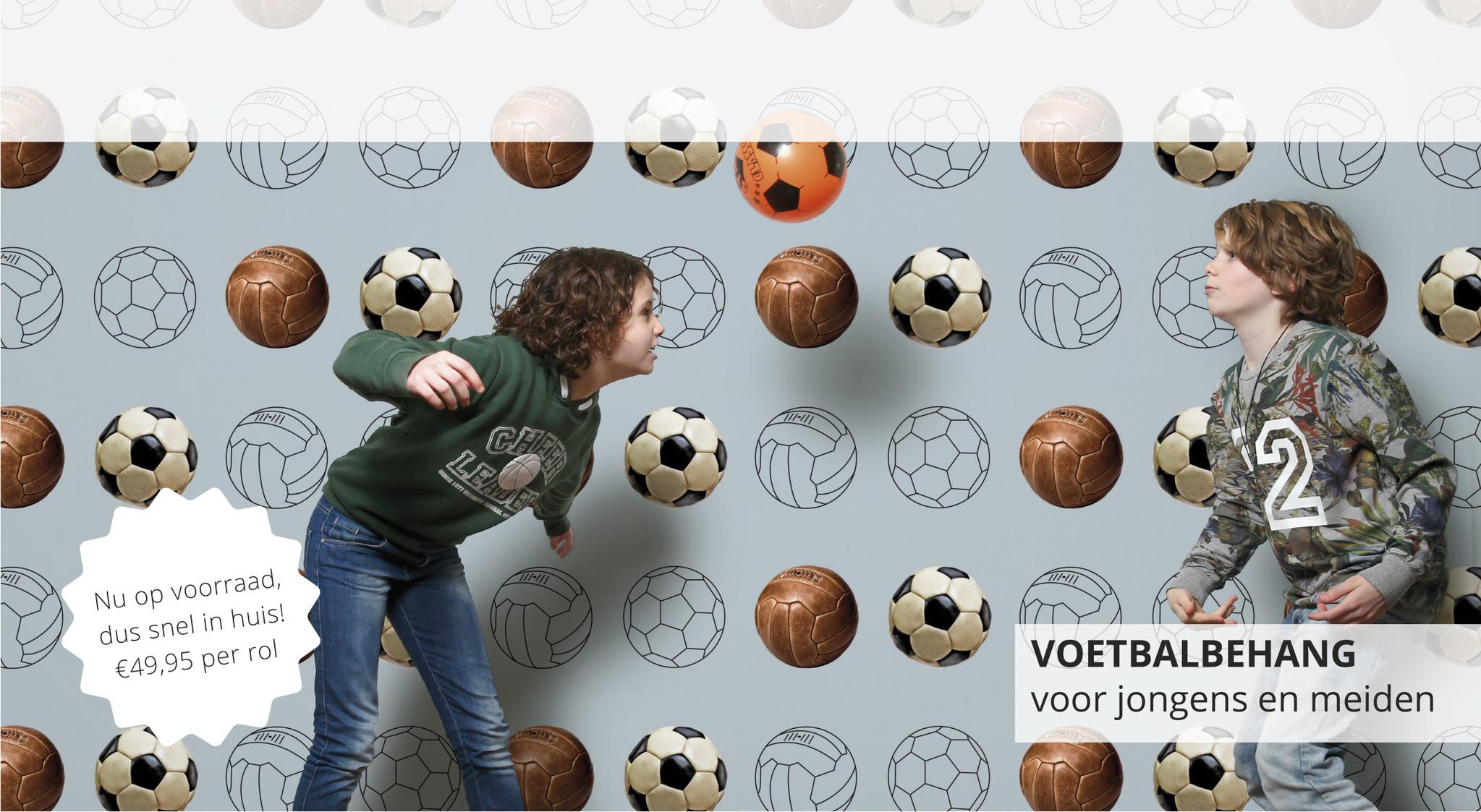 voetbalbehang