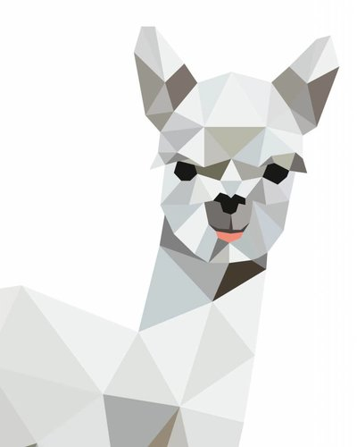 Behangpaneel alpaca