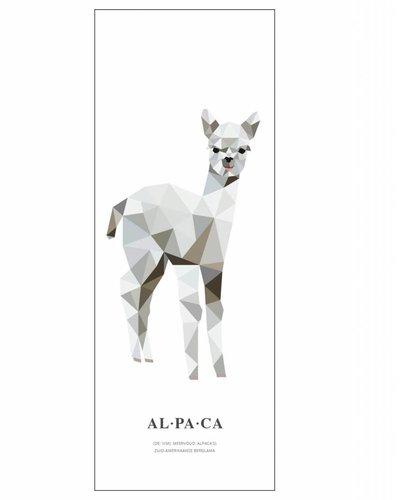Behangpaneel alpaca