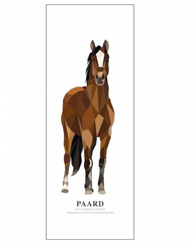 Behangpaneel paard