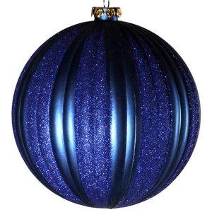 bal ca. 15cm verticaal donkerblauw