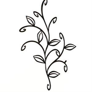 Koziol bloem zwart per 5
