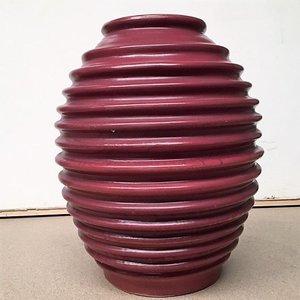 Buiten vaas roodbruin 50cm hoog
