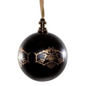 Marcel Wanders 3x kerstbal groot zwart