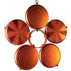 bloem in 5 delen oranje