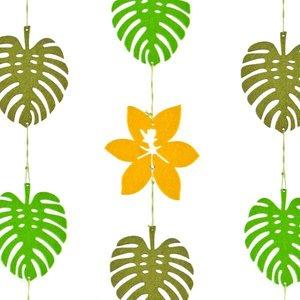 slinger vilt blad bloem geel groen