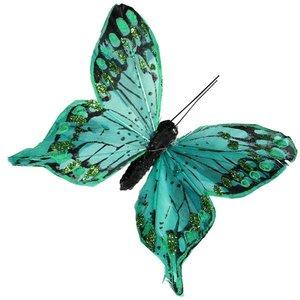 vlinders diverse kleuren per 10