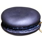 macaron koekje donkerblauw