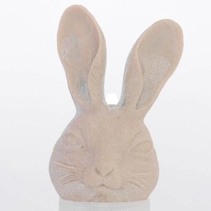 Haas konijn hoofd resin