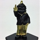Kabouter wijsvinger goud zwart