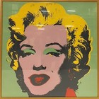 Marilyn Monroe in houten lijst