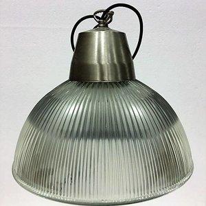 Industriële hanglamp glas