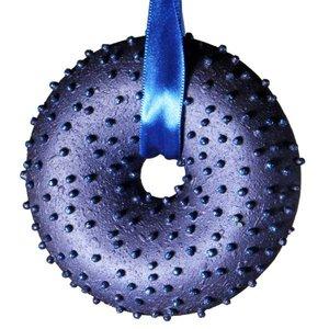 kransje donkerblauw