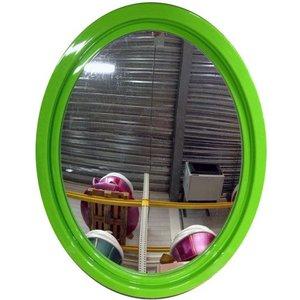 spiegel ovaal XL groen ca 65 x 87 x 4cm