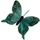 vlinder donker groen per 10